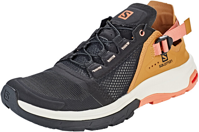 Salomon Techamphibian 4 Sko Damer, blackbistretawny orange